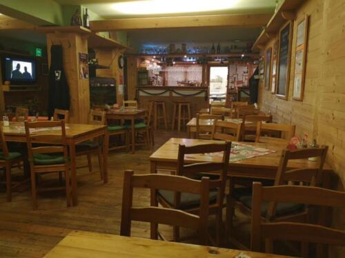 restaurace, vnitřní posezení