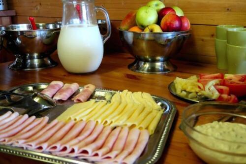 restaurace -snídaně