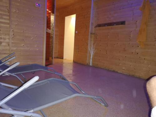 sauna odpočívárna